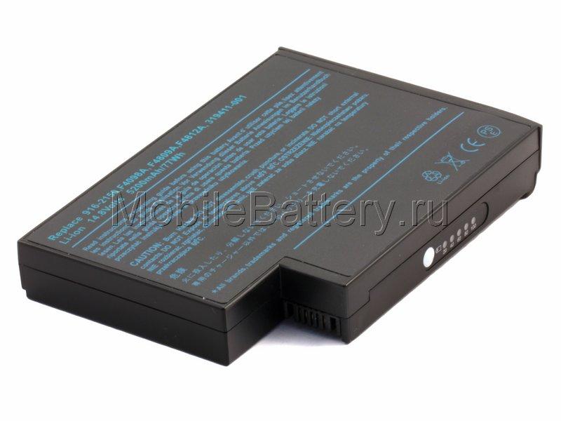 Аккумулятор для ноутбука HP Compaq F4098A, F4809A, F4812A