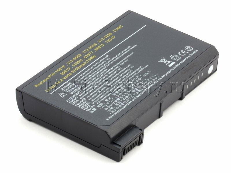 Аккумулятор Dell 1691P, 1K500, 312-0041, 312-3280, 75UYF