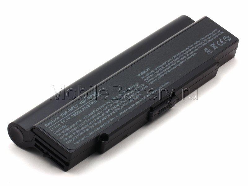 Усиленный аккумулятор Sony VGP-BPL2, VGP-BPL2C, VGP-BPS2A