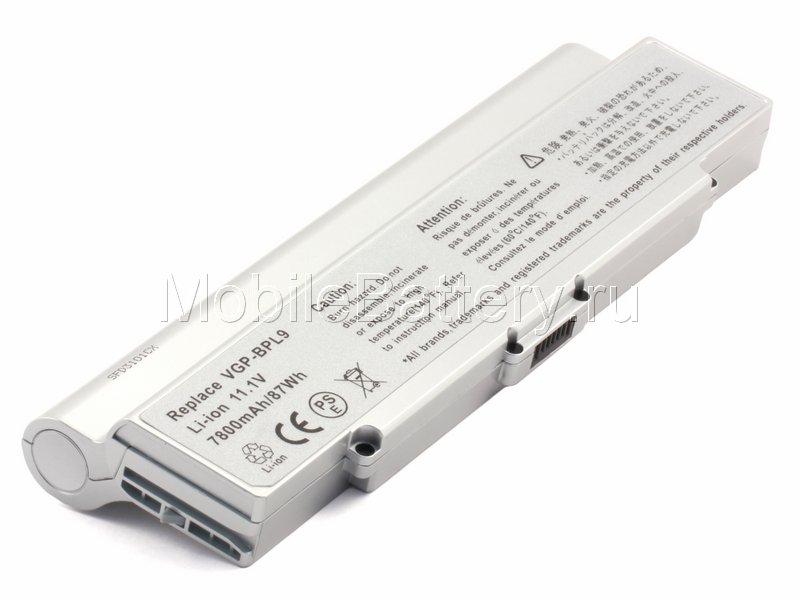 Усиленный аккумулятор для ноутбука Sony VGP-BPL9, VGP-BPS9/S