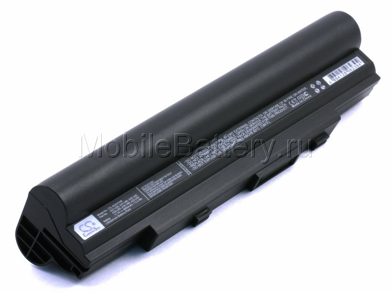 Усиленный аккумулятор для ноутбука Asus A32-U50, A32-U80