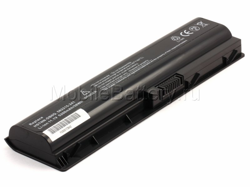Аккумулятор для ноутбука HP 582215-421, HSTNN-LB0Q, WD547AA