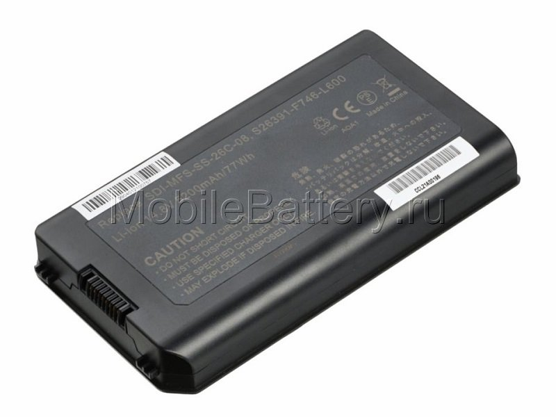 Аккумулятор для ноутбука Fujitsu Siemens SDI-MFS-SS-26C-06