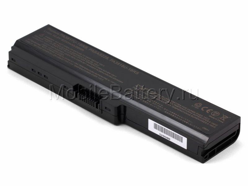 Аккумулятор Toshiba PA3634U-1BRS, PABAS117, PABAS230 (5200mAh)