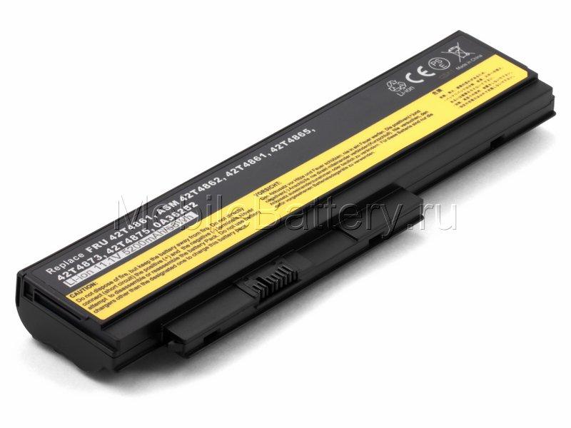 Аккумулятор Lenovo 0A36282, 0A36283, 42T4862, 42T4901 (5200mAh)