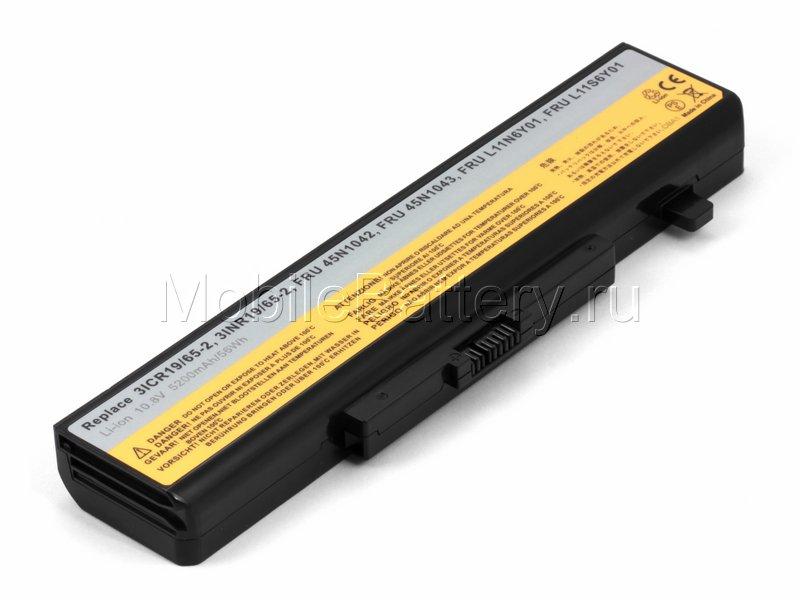 Аккумулятор для Lenovo (121500047, 45N1043, L11L6Y01) 5200mAh