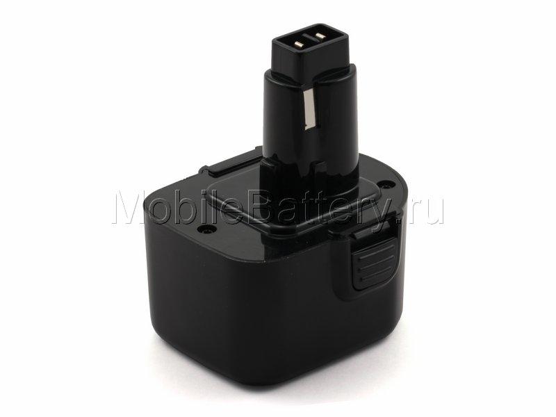 Усиленный аккумулятор Black & Decker A9252, A9275, PS130, PS130A
