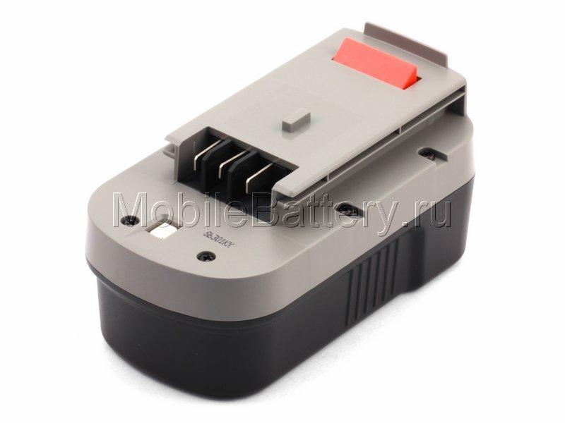 Усиленный аккумулятор для Black & Decker A1718, HPB18, NST2118