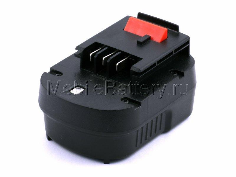 Аккумулятор для Black & Decker A12, A1712, FS120B, FSB12, HPB12