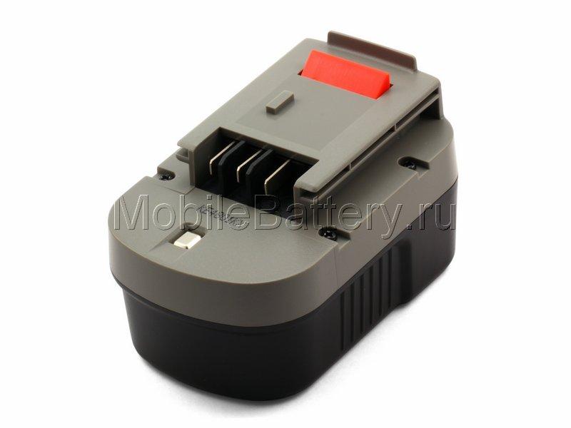 Усиленный аккумулятор Black & Decker A14, A14F, A1714 (Ni-MH)