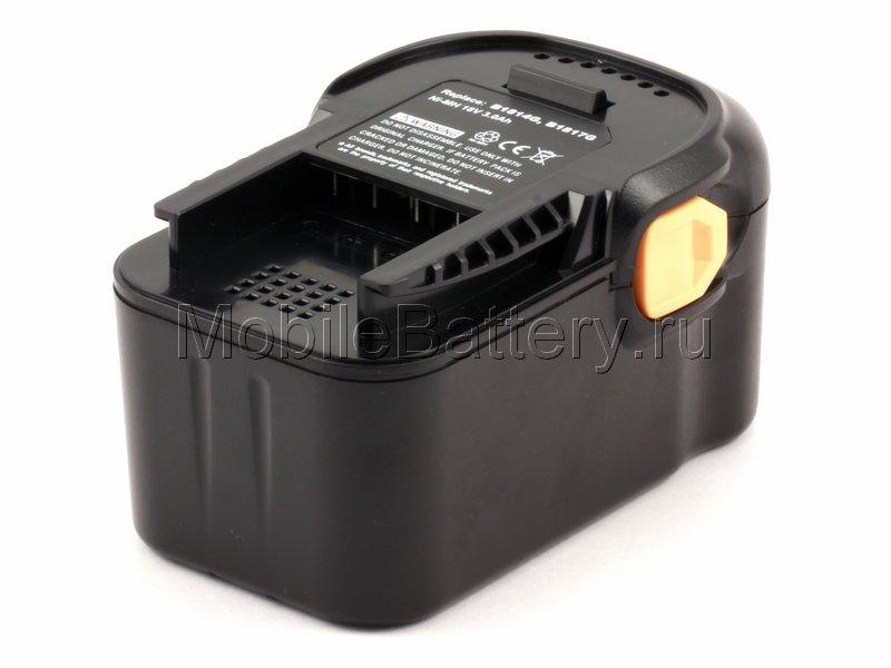Усиленный аккумулятор AEG B1814G, B1817G, B1820R, M1830R
