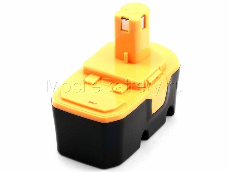 Усиленный аккумулятор RYOBI BPP-1813, BPP-1815, BPP-1817M, P100