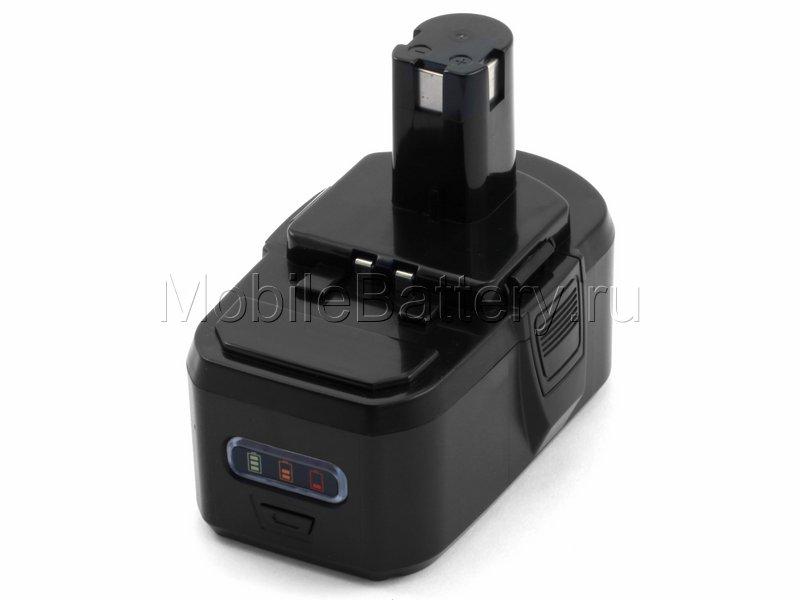 Аккумулятор RYOBI BPL-1815, BPL-1820, BPL1820, P103, P104, P107