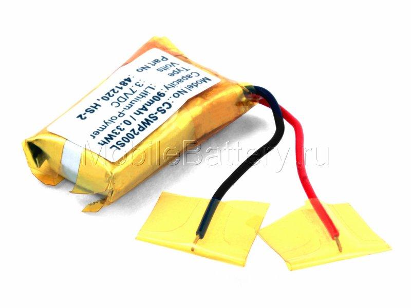 Аккумулятор для гарнитуры Samsung WEP200, WEP210 (481220, HS-2)