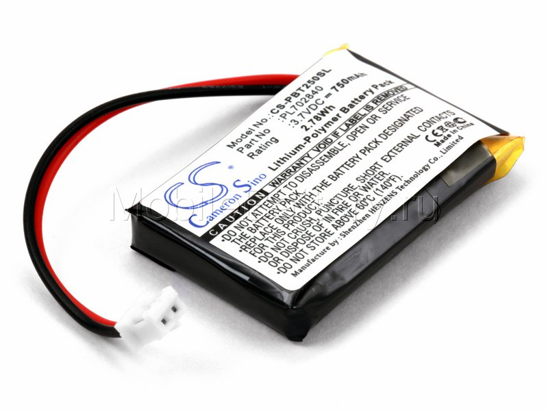 Аккумулятор для беспроводной колонки Philips BT2500 (PL702840)