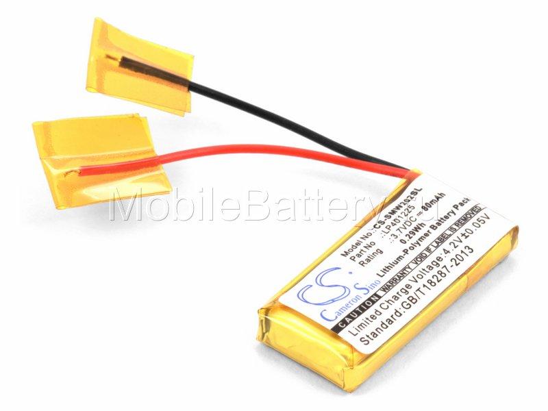 Аккумулятор для гарнитуры Sony NWZ-W202 (LP401225)