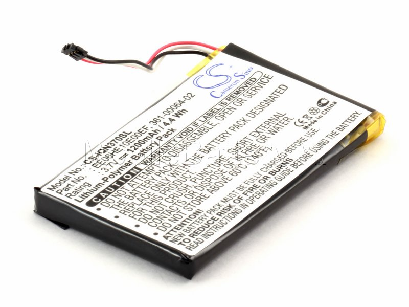 Аккумулятор для GPS-навигатора Garmin Nuvi 3750, 3760, 3790