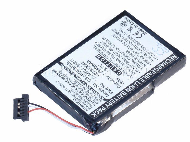 Аккумулятор для GPS-навигатора Mitac Mio P360, P560, P565
