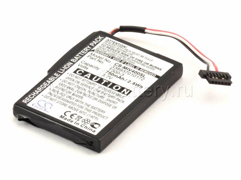 Аккумулятор для GPS-навигатора Mitac Mio Moov 400, 500, 580