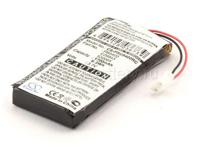 Аккумулятор для пульта ДУ Philips Pronto TSU9300, TSU9400