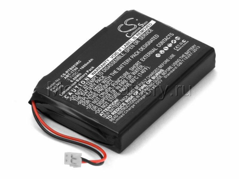 Аккумулятор для RTI T3V, T3-V, T3-V+ (30-210218-17, ATB-1700)