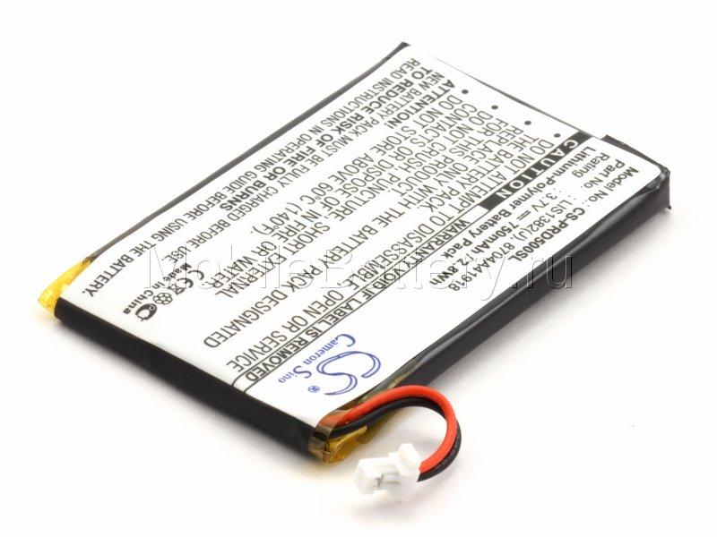 Аккумулятор для электронной книги Sony PRS-500, 505, LIS1382(J)