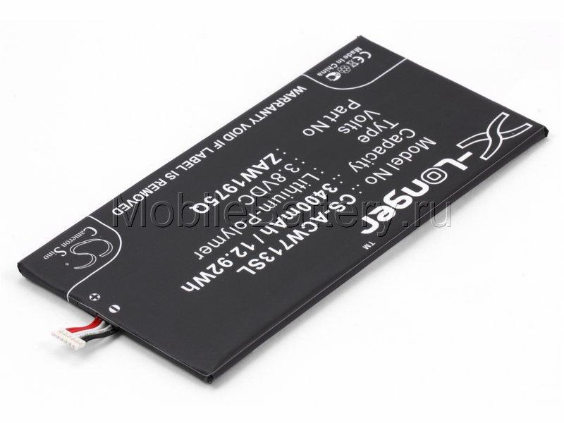 Аккумулятор для планшета Acer Iconia Tab A1-713 (ZAW1975Q)