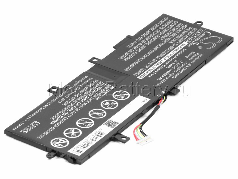 Аккумулятор для планшета Lenovo ThinkPad Helix 2 (SB10F46448)