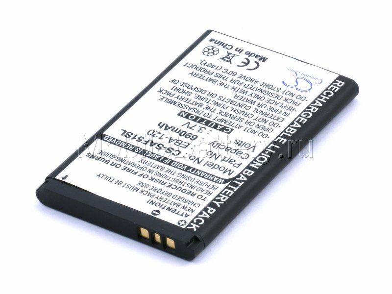 Аккумулятор для сотового телефона Siemens EBA-120, EBA-130