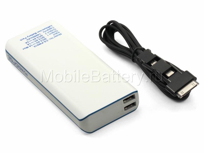 Универсальный внешний аккумулятор для телефона Power Bank 52Wh