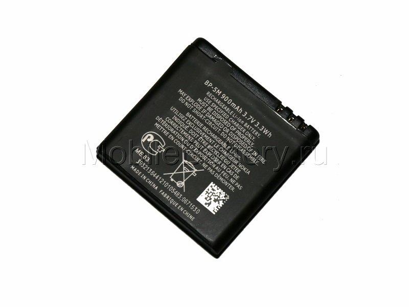 Аккумулятор для телефона Nokia BP-5M (950mAh)
