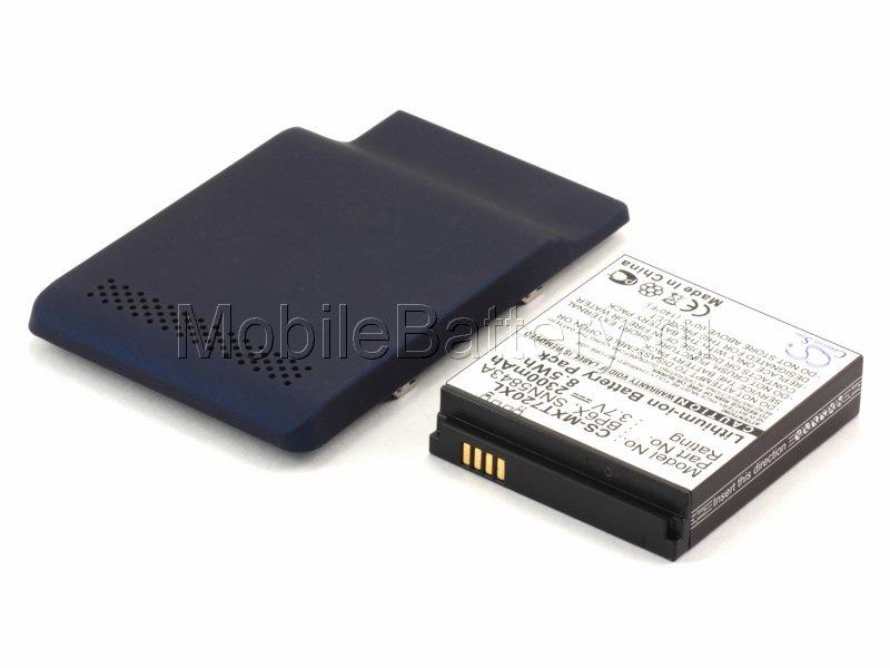 Усиленный аккумулятор для Motorola XT701, XT720 (синяя крышка)