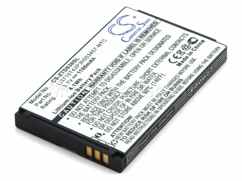 Аккумулятор для ZTE R221, S300 МТС 916 (Li3710T42P3H553457)