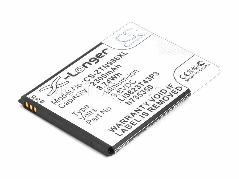 Аккумулятор для телефона ZTE N986, V975 (LI3823T43P3H735350)