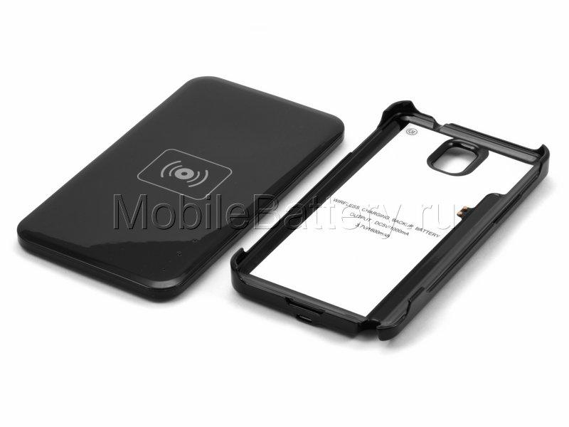 Чехол-аккумулятор с NFC зарядкой для Samsung Galaxy Note 3