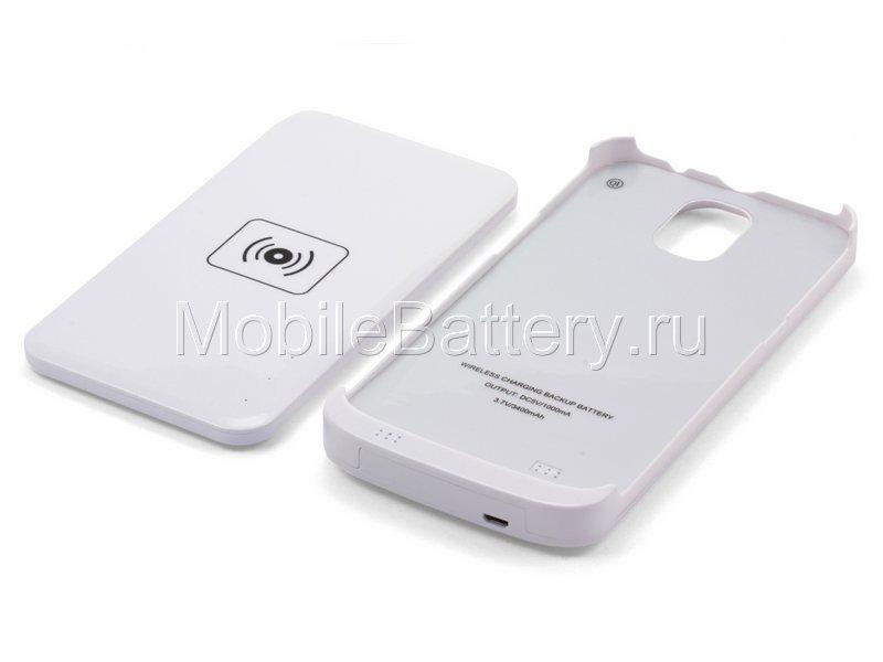Чехол-аккумулятор с NFC зарядкой для Samsung Galaxy Mega 6.3