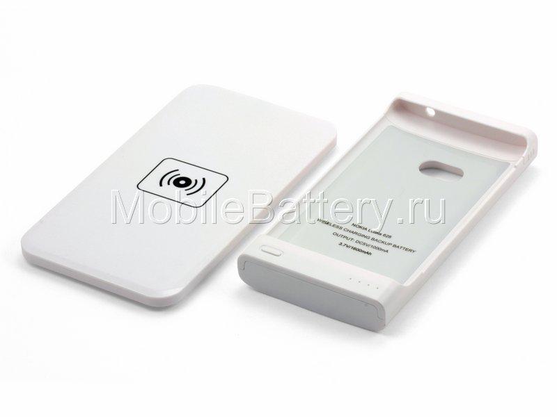 Чехол-аккумулятор с беспроводной зарядкой для Nokia Lumia 625