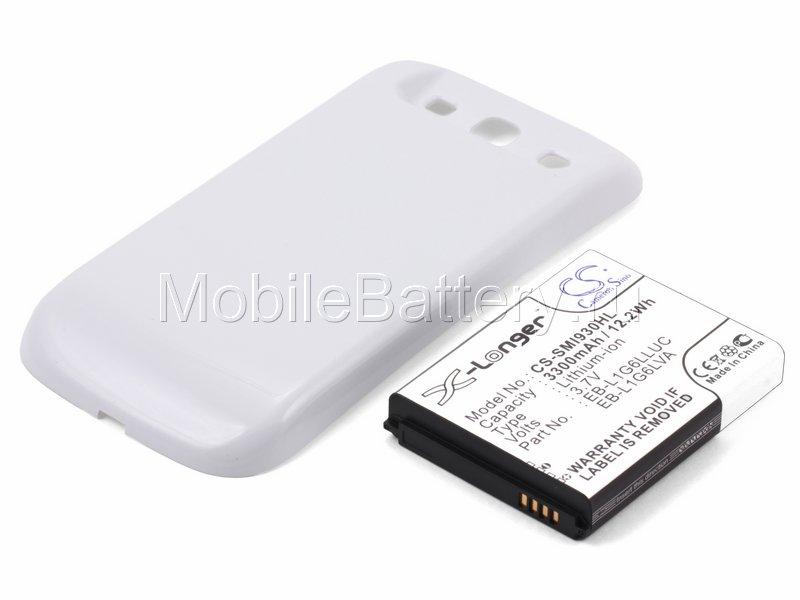 Усиленный аккумулятор Samsung EB-L1G6LLA, EB-L1G6LLU (белый)