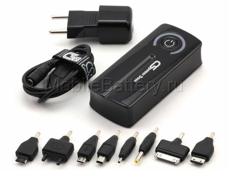 Универсальный внешний аккумулятор для телефона Power Bank 21Wh