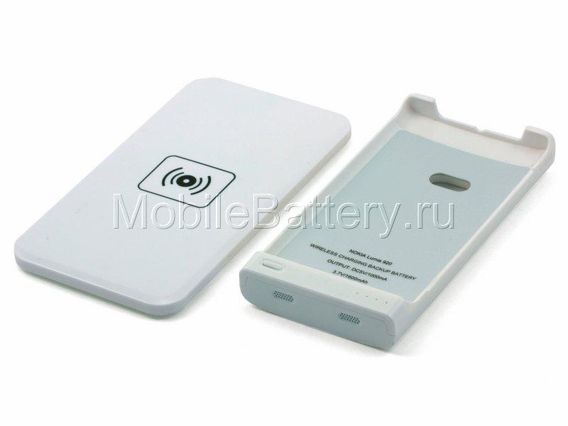 Чехол-аккумулятор с беспроводной зарядкой для Nokia Lumia 920