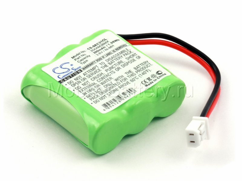 Аккумулятор для Sagem Mistral 10/200, 20/200 (30AAM3BMX)
