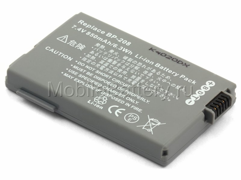 Аккумулятор для видеокамеры Canon BP-208, BP-308, BP-310