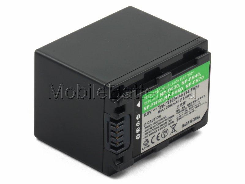 Усиленный аккумулятор для видеокамеры Sony NP-FH60, NP-FH70