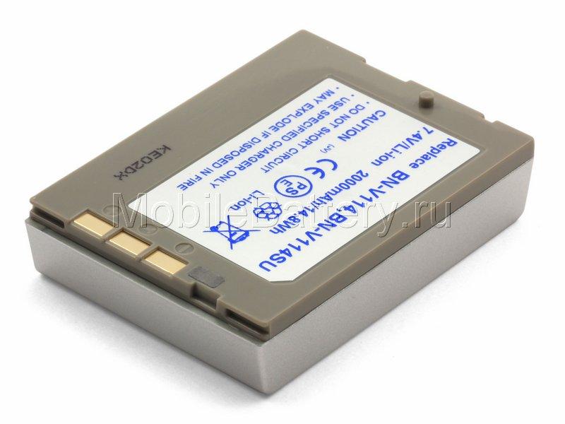 Усиленный аккумулятор для видеокамеры JVC BN-V114U, BN-V107U
