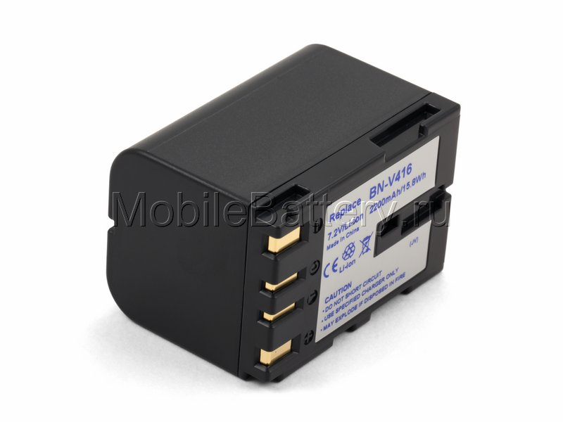 Усиленный аккумулятор JVC BN-V416, BN-V416U, BN-V428