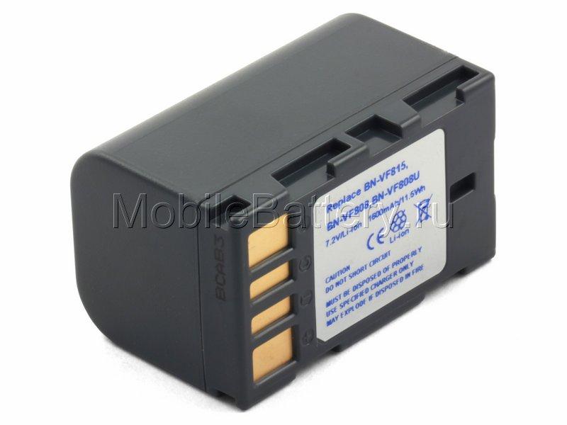 Усиленный аккумулятор для видеокамеры JVC BN-VF815U, BN-VF808U