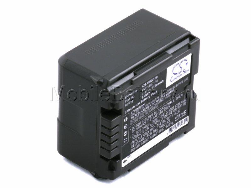 Усиленный аккумулятор Panasonic VW-VBG070A, VW-VBG130, VW-VBG260