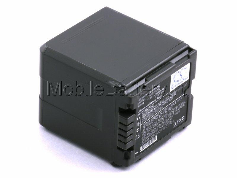 Усиленный аккумулятор Panasonic VW-VBG130, VW-VBG260, VW-VBG390