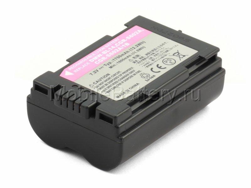 Аккумулятор для фотоаппарата Leica BP-DC3, Panasonic CGR-S602E