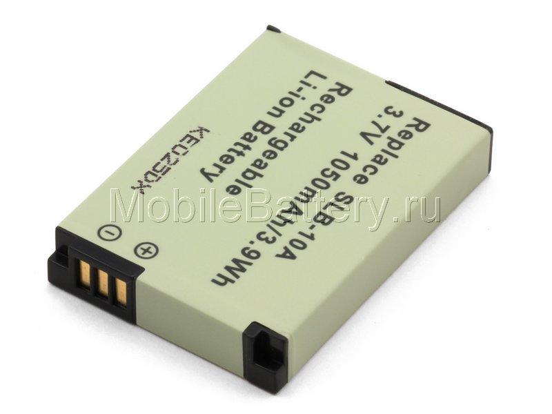 Аккумулятор для фото и видеокамеры JVC BN-VH105, Samsung SLB-10A